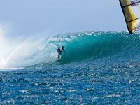 kitesurf wave